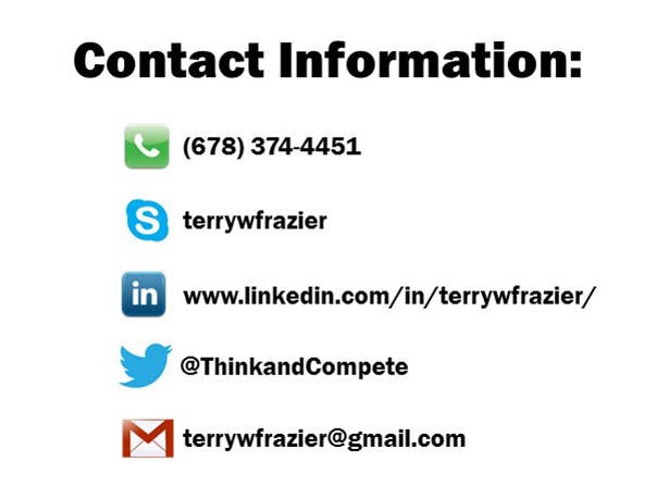 Contact Terry W. Frazier